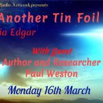 UFOlogical interview with Zelia Edgar on Just Another Tin Foil Hat